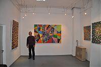 088 Stephan Werbeck in der Bachstubengalerie