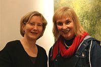 Ursula Medenwald & Marlies Blauth - Foto: Heidi Monsma