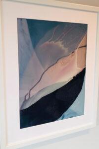 abstrakt, Acryl auf Acrylglas