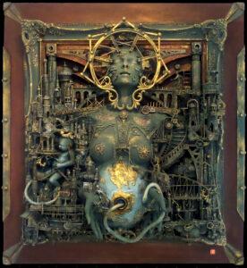 Mater Dei Assemblage Skulptur